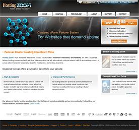 HostingZoom Screenshot